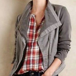 Anthropologie I Saturday Sunday Tavi Moto Jacket